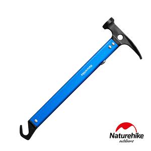 Naturehike 戶外多功能鋁合金地釘鎚 營鎚藍色