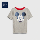 Gap 男幼童 做舊風格紮染短袖T恤 544966-灰色