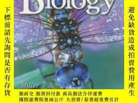 二手書博民逛書店Biology罕見Miller And Levine Hardcover Student Edition 2004