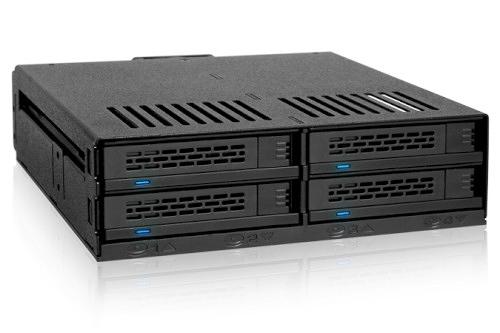 "ICY DOCK ExpressCage MB324SP-B 四層式 2.5"" SAS/SATA HDD&SSD轉一5.25""裝置空間 熱插拔 硬碟背板模組"
