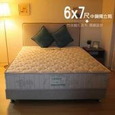 床墊 / 6x7尺中鋼獨立筒 / 竹炭床墊可吸濕排汗 / 護脊型硬式床墊  A67 愛莎家居