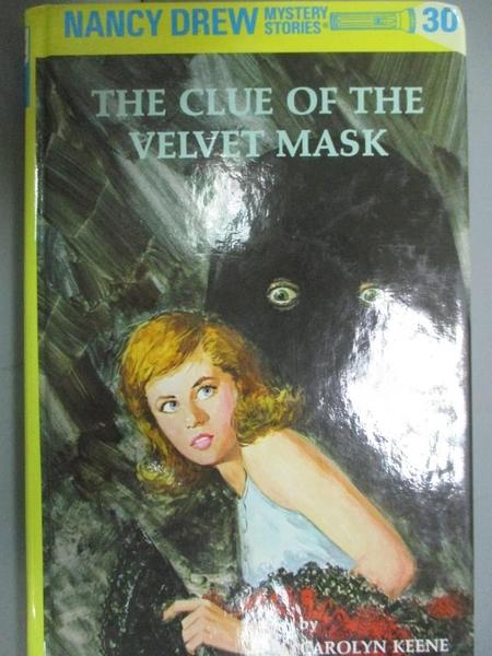 【書寶二手書T4/原文小說_GTD】The Clue of the Velvet Mask_Keene, Carolyn