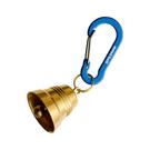 [Mont-Bell] Key Carabiner Bell Nasu-Kan 5 M 銅鈴小鉤環 皇家藍 (1124341-RBL)