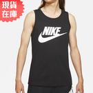 【現貨】NIKE SPORTSWEAR 男裝 無袖 背心 棉質 休閒 訓練 健身 黑白【運動世界】AR4992-013