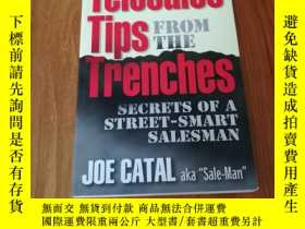 二手書博民逛書店TELESALES罕見TIPS FROM THE TRENCHE