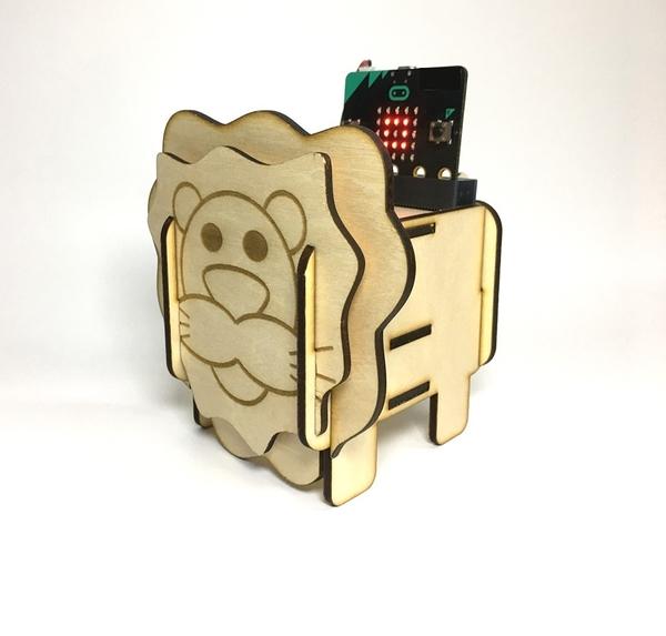 micro:bit 獅子音樂盒 聲光套件組