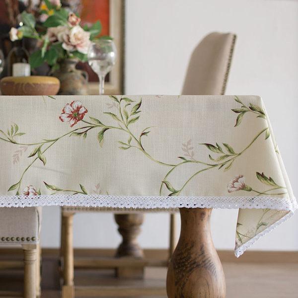 時尚優雅空間餐桌布 茶几布 隔熱墊 鍋墊 杯墊 餐桌巾 58 (90*140cm)