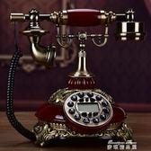 仿古電話機歐式電話機復古電話機美式電話家用時尚座機電話機   麥琪精品屋