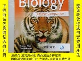 二手書博民逛書店英文原版罕見Biology --course companion