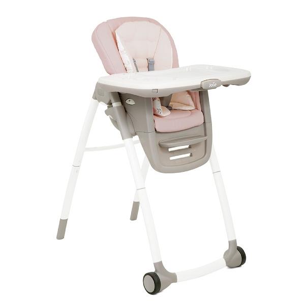 【贈口罩套3入】奇哥 joie Multiply 6in1成長型多用途餐椅-粉