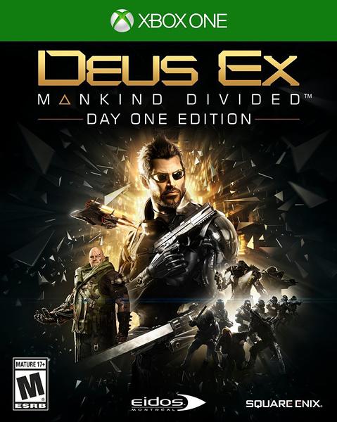 X1 Deus Ex: Mankind Divided 駭客入侵:人類岐裂(美版代購)