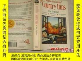 二手書博民逛書店Recommended罕見Country lnns New En