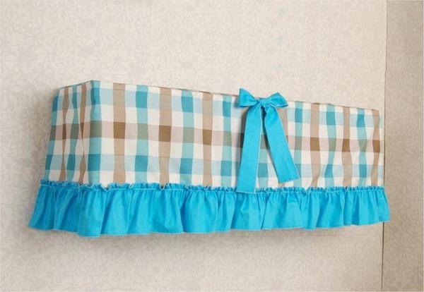 [超豐國際]空調罩掛機罩 棉布藝掛式空調罩 掛機空調套罩半包