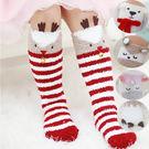 童襪 襪子 長襪 保暖襪 聖誕節 加厚款 毛巾布 腳底有防滑設計 五款  寶貝童衣