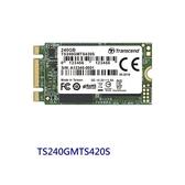 創見 固態硬碟 【TS240GMTS420S】 240GB SATA 3 M.2 2242 SSD 420S 新風尚潮流