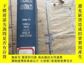 二手書博民逛書店Chemical罕見Abstracts.Volume105.Au
