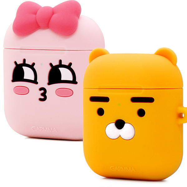 GARMMA KAKAO FRIENDS AirPods 1&2代 藍芽耳機盒保護套