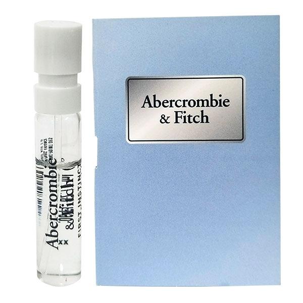 ABERCROMBIE & FITCH A&F 湛藍女性淡香精 2ml 針管(40459)【娜娜香水美妝】