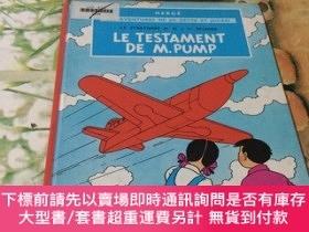 二手書博民逛書店LE罕見TESTAMENT DE M.PUMPY204356 LE TESTAMENT DE M.PUMP L