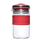 五彩環濾泡壺 (400ml) 玻璃 泡茶 耐熱玻璃 玻璃濾泡壺 泡茶壺 泡茶器 沖茶器 現貨