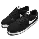 Nike 滑板鞋 SB Check Solar CNVS 黑 白 基本款 黑白 休閒鞋 男鞋【PUMP306】 843896-001