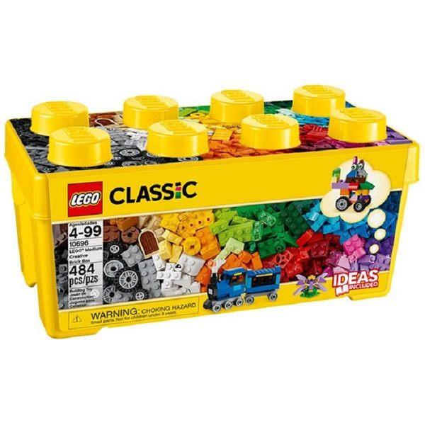 【鯊玩具Toy Shark】 LEGO 樂高 Classic 經典系列 10696 中型創意拼砌盒桶