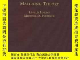 二手書博民逛書店Matching罕見Theory-匹配理論Y436638 Laszlo Lovasz; Mi... Ameri