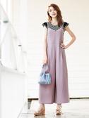 夏日520[H2O]條紋金蔥布剪接羅紋小飛袖針織上衣 - 深藍條/黑條色 #9681007