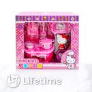 ﹝Kitty廚房家家酒﹞正版 扮家家酒 兒童玩具 益智玩具 凱蒂貓〖LifeTime一生流行館〗D62109