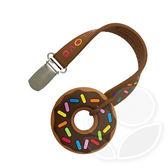 美國 Silli Chews 迷你巧克力甜甜圈夾帶咬牙器【佳兒園婦幼館】