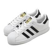 【海外限定】adidas 休閒鞋 Superstar 白 黑 女鞋 金標 運動鞋 貝殼頭 【PUMP306】 FV3284