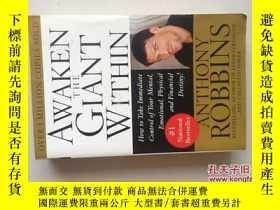 二手書博民逛書店Awaken罕見the Giant Within (16開平裝本