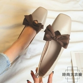 復古瑪麗珍奶奶鞋女平底單鞋仙女豆豆鞋大碼【時尚大衣櫥】
