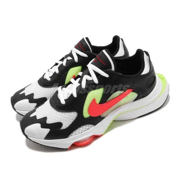 Nike 休閒鞋 Wmns Air Zoom Division 黑 白 紅 女鞋 復古慢跑鞋 氣墊 運動鞋 【ACS】 CK2950-001