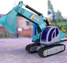 挖掘機玩具 耐摔挖土機工程車兒童挖掘機玩具車仿真大號挖機鉤機男孩TW【快速出貨八折搶購】