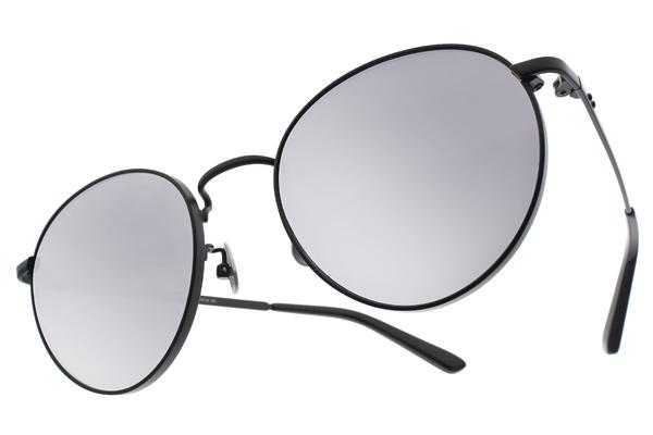 NINE ACCORD 水銀太陽眼鏡 KISSING-FRAN C03 (黑-白水銀) 文青極簡風 # 金橘眼鏡