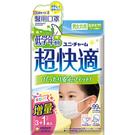 優妮嬌盟超快適醫用口罩(未滅菌)低年級3+1入/包 【康是美】