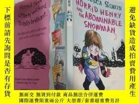 二手書博民逛書店horrid罕見henry and the abominable snowman 可怕的亨利和可惡的雪人.Y2