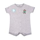 男寶寶短袖兔裝 前開式連身衣 灰猴子   Carter s卡特童裝 (嬰幼兒/新生兒/baby/兒童)