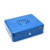 鑰匙現金箱 深30x寬24cm 大型尺寸 混色隨機(紅、藍)