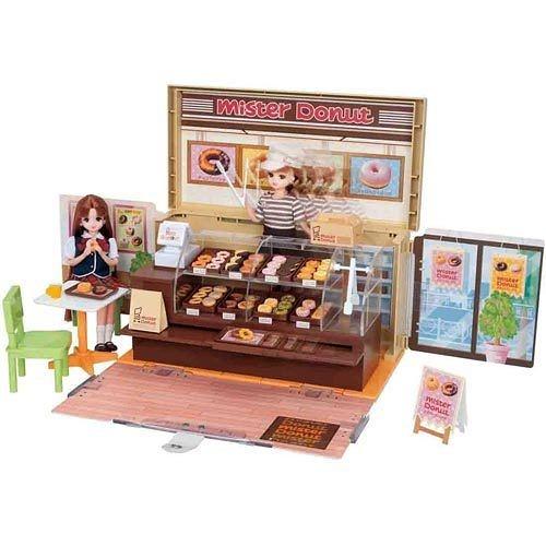 LICCA莉卡娃娃 甜甜圈店禮盒組Mister Donut (授權中文版) *含莉卡店員