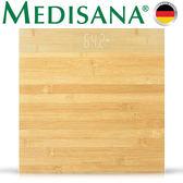德國Medisana簡約竹質體重計