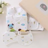 全館83折 純棉新生兒禮盒初生嬰兒衣服套裝秋冬0-3個月6夏季剛出生寶寶用品