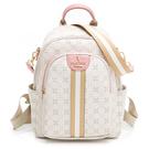 PLAYBOY - 後背包-可肩背 Honey peach系列 - 白色