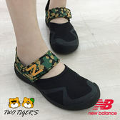 New Balance 迷彩/黑色 魔鬼氈 運動涼鞋 中大童 NO.R2818