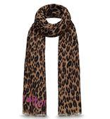 【雪曼國際精品】LV M72215 LOUIS VUITTON 豹紋 LEOPARD 披巾 (二手商品)9成新~現貨