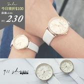 Planet .港牌KEZZI ~光澤放射線鱷魚紋皮革錶帶手錶對錶~ta561 ~~911