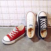 男童鞋子秋冬季中大童女童秋季加絨二棉鞋男孩兒童運動鞋【聖誕交換禮物】