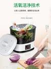 果蔬臭氧機 薩美特全自動洗菜機家用果蔬清洗機全智慧臭氧除農藥去農殘消毒機 220V 亞斯藍