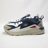 Skechers VERRADO - RANDEN 休閒鞋 210037NVW 寬楦 男款 白藍【iSport愛運動】